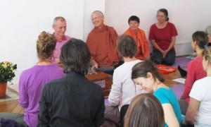 Swami Nishchalananda, Swami Paramatma, Swami Yoga Jyoti, Yogini Ratna